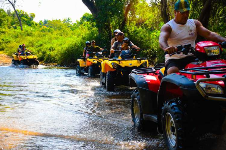Ixtapa Zihuatanejo Four Wheeler ATV Activities | Pacific Tours Ixtapa. Enjoy an adventure in Ixtapa Zihuatanejo by riding a all-terrain vehicle four wheeler (ATV's in Ixtapa Zihuatanejo) on the beach and trough coconuts plantation, this activity is available for everyone over the age of 16 years old. Things to do in Ixtapa Zihuatanejo