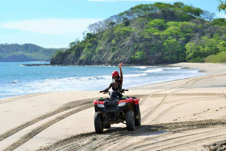 Zihuatanejo Zipline & Ixtapa ATV's (Pure Adrenaline) | Pacific Tours Ixtapa. Combine Pure adrenaline by taking two adventure activities in one day, Ziplining and ATV's Riding along the beach and trough coconuts plantations, these two activities can be done in one adventure day while visiting Ixtapa Zihuatanejo Mexico. Things to do in Ixtapa Zihuatanejo